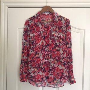 Express Portifino Floral Shirt